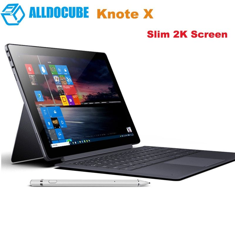 Original ALLDOCUBE KNote X 2-In-1 Tablet PC 13,3 ''Windows 10 OS Intel Gemini See N4100 2,4 GHz 8GB + 128G Tabletten Mit Tastatur