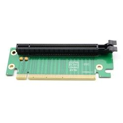 Hot Worldwide PCI-E Express 16X 90 Degree Adapter Riser Card For 2U Computer Server Chassis hot new