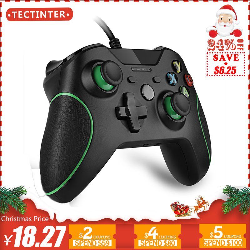 Wired Controller Pour Microsoft Xbox Un Contrôleur Gamepad Joystick USB Controle Pour Windows PC