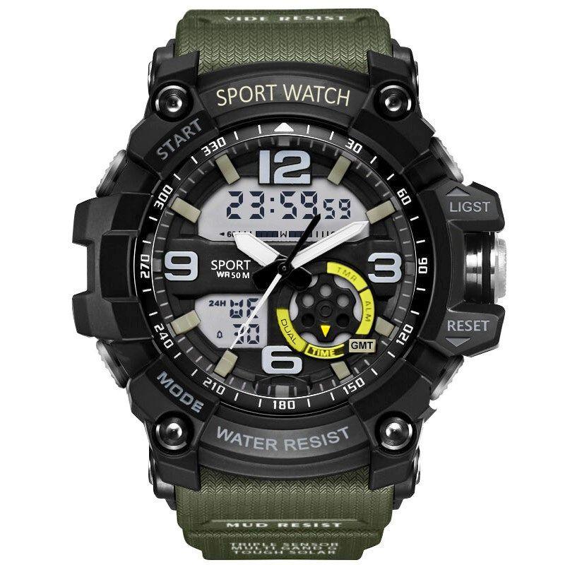 G militaire choc hommes montres Sport montre LED numérique 50 M montre étanche décontractée mâle horloge 759 relogios masculino montre relojes