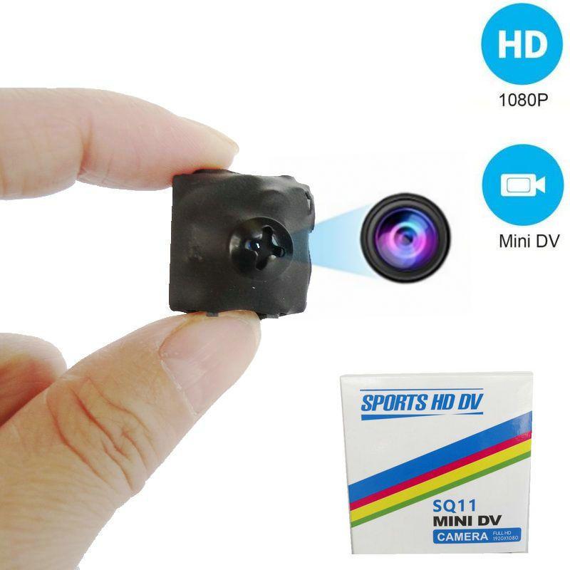 SQ11 Minuscule DV Caméra 1080 p HD Enregistreur Vidéo mini vis CAM DVR Caméscope