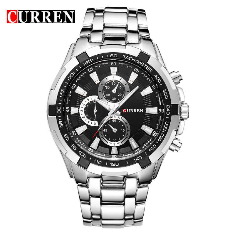 HOT2016 CURREN Watches Men quartz TopBrand Analog Military male Watches Men Sports army Watch <font><b>Waterproof</b></font> Relogio Masculino8023
