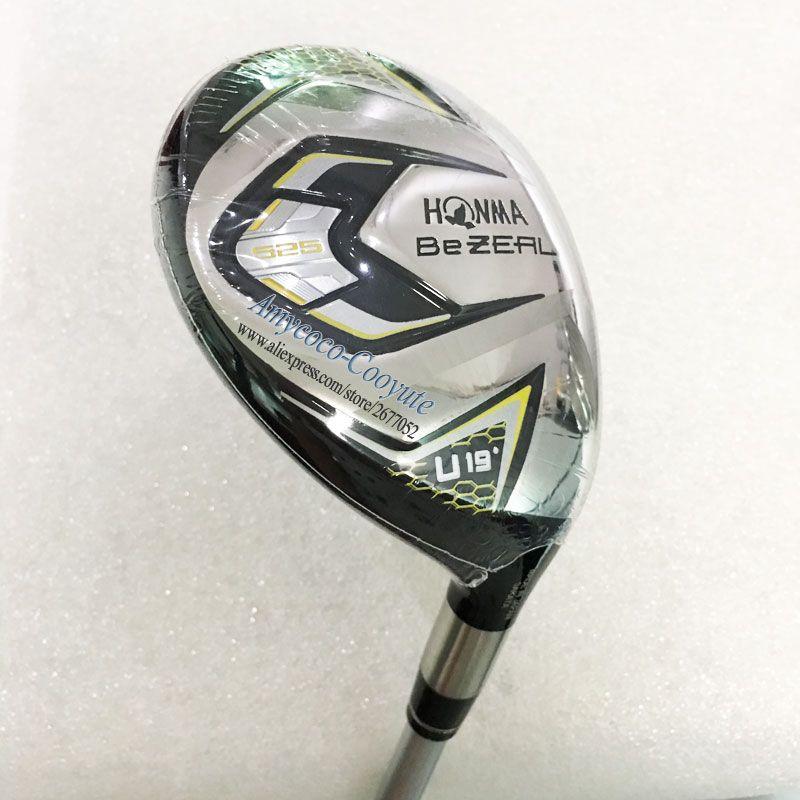 New Men Golf clubs HONMA BEZEAL 525 Golf Hybrids wood U19 clubs HONMA Golf wood and Graphite Golf shaft Cooyute Free shipping