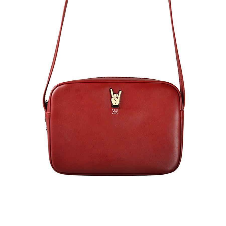 Kiitos Life PU women messenger bags with alloy accessories in MUSIC series (FUN KIK)