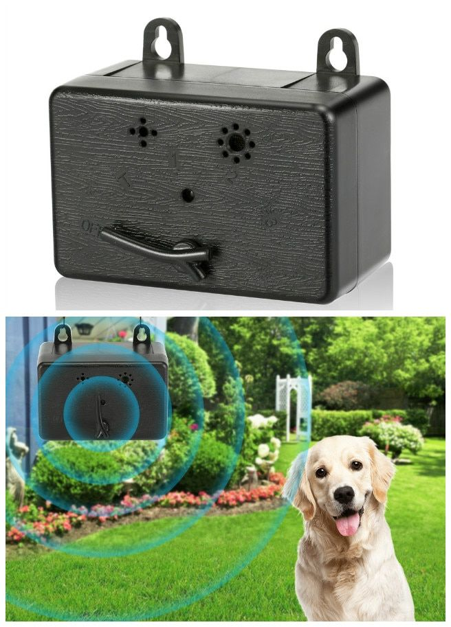 Anti Barking Stop Bark Ultrasonic Pet Dog Repeller Outdoor Dog Stop No Bark Control Training <font><b>Device</b></font>