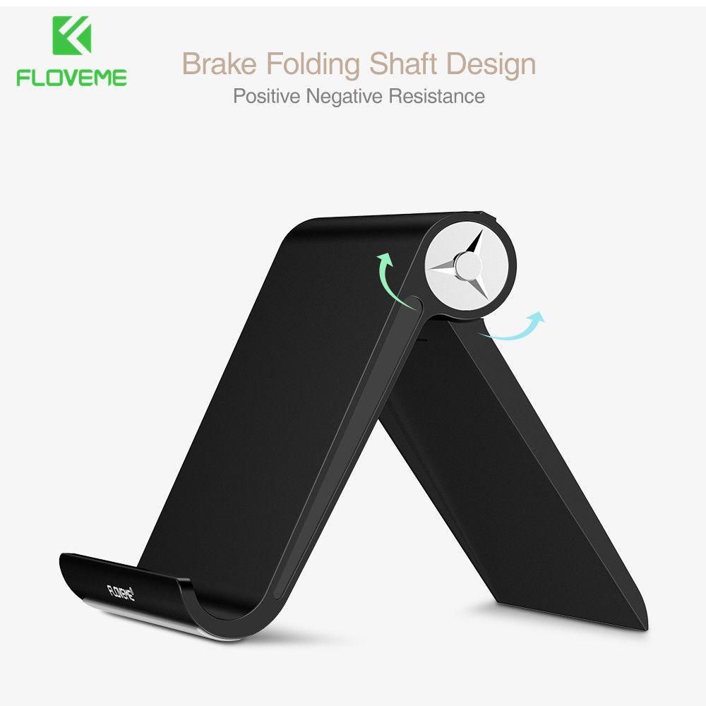 Floveme телефон, подставка-держатель для iPhone 6 6S 7 Plus 5S SE Универсальный Авто держатели для планшета док стабильной держателем для iPad 2 3 4 Mini 2 4 AIR