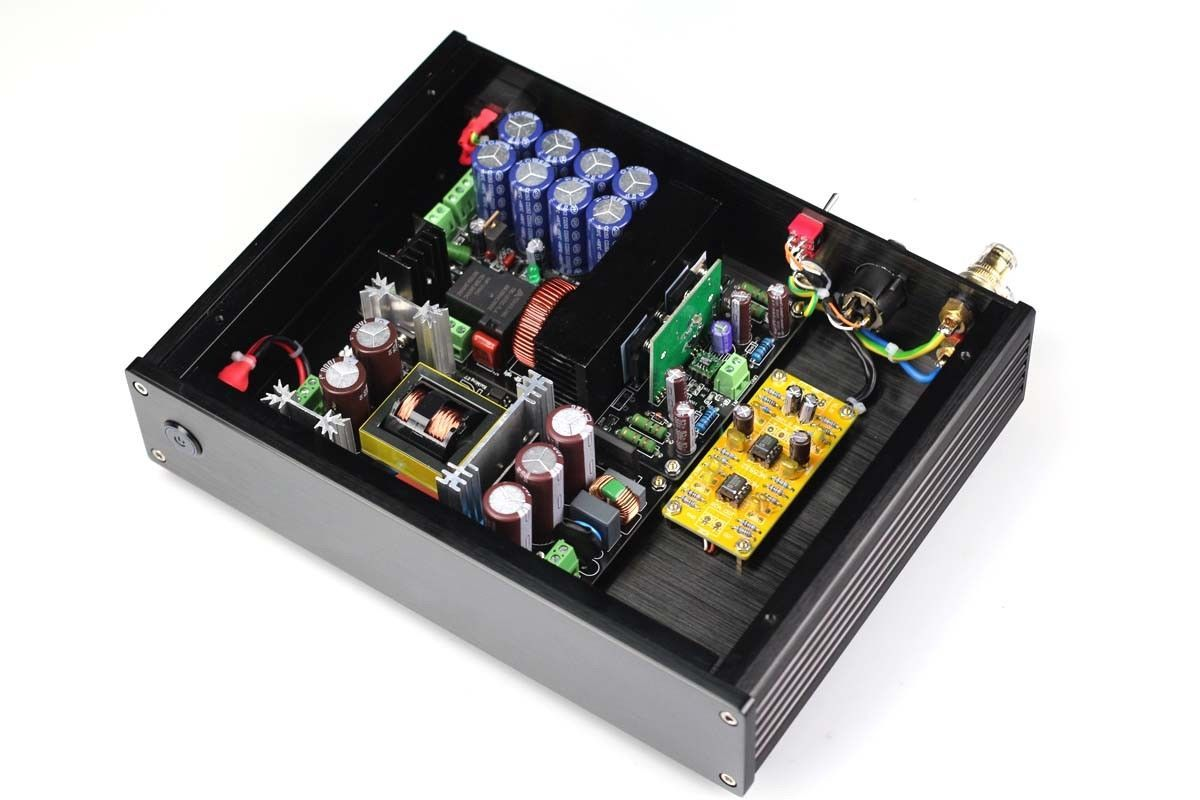 ZEROZONE Hifi 1000 Watt IRS2092 mono class-d-endstufe unterstützung Ausgewogene eingang L5-40