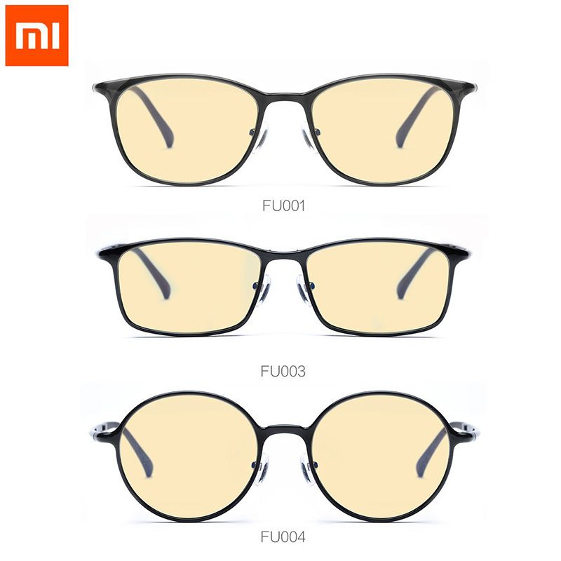 Xiaomi TS 60% Anti-blue-rays 100% UV Protective <font><b>Glasses</b></font> Eye Protector For Play Phone Computer Games TV Round/Square/Oval <font><b>Glasses</b></font>