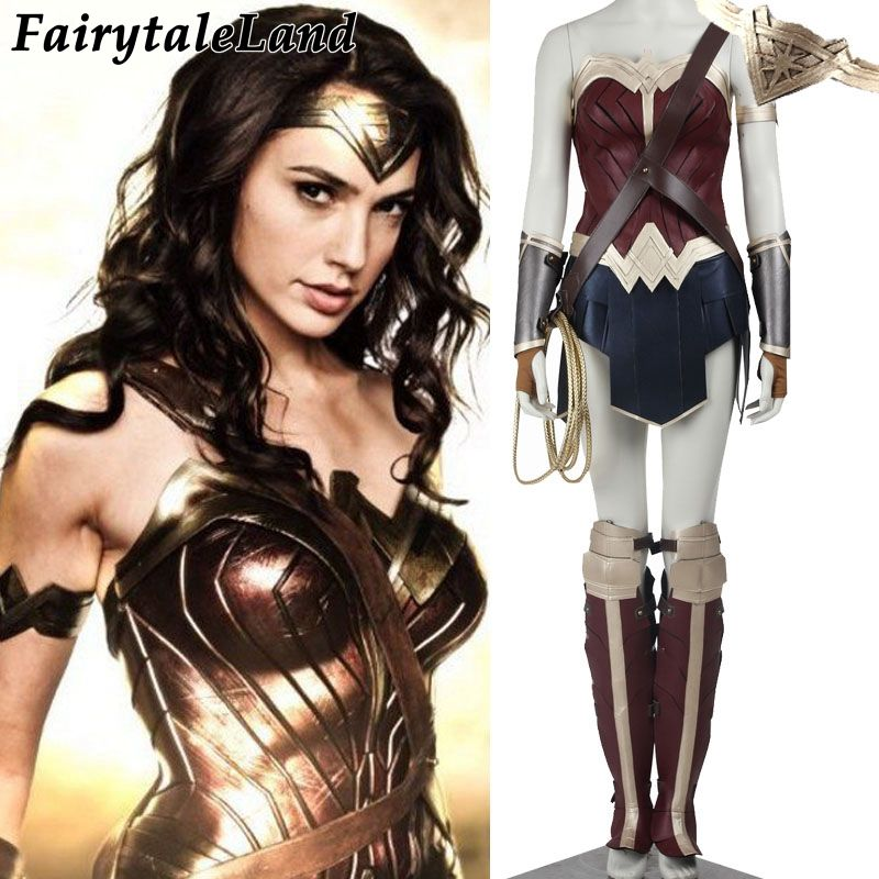 2017 Diana Prince Wonder woman cosplay costume adult Batman v Superman Dawn of Justice cosplay costume wonder woman suit custom