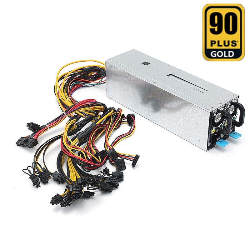 1600 Watt Miner Stromversorgung Bergbau Maschine Stromversorgung Für Eth Bitcoin Miner Antminer Server S7 S9 T9 E9 A7 gerät