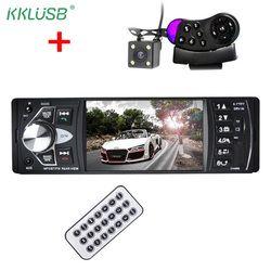 4022D 4.1 pouce 1 Din Voiture Radio Auto Audio Stéréo autoradio Bluetooth Soutenir caméra de Vue Arrière Caméra USB Volant À Distance contrôle