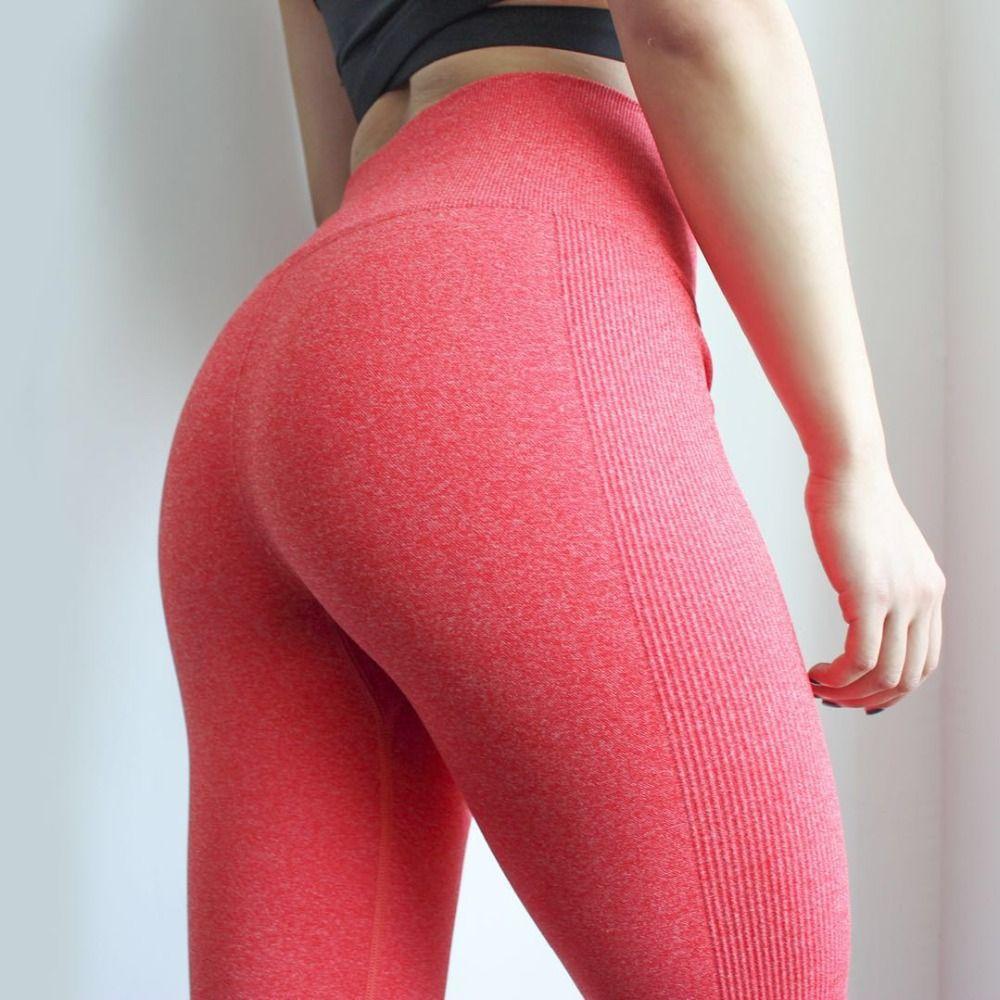 DutteDutta femmes haute élastique Fitness Sport Leggings pantalons de Yoga Slim collants de course vêtements de Sport pantalons pantalons vêtements