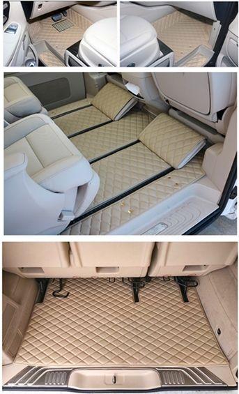 Custom special auto fußmatten + kofferraum matte für Rechtslenker Mercedes Benz V220 V250d 7 sitze 2019- 2015 wasserdicht teppiche