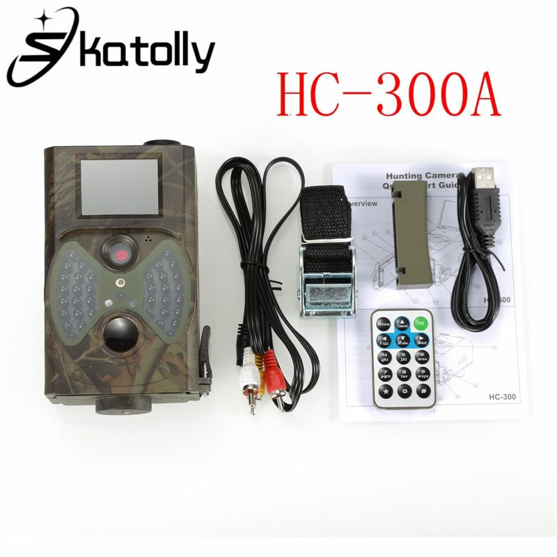 Skatolly HC300 HC-300A Outdoor Scouting Hunting Camera 12MP HD 940NM Infrared Wildlife Night Vision IR Trail Camera