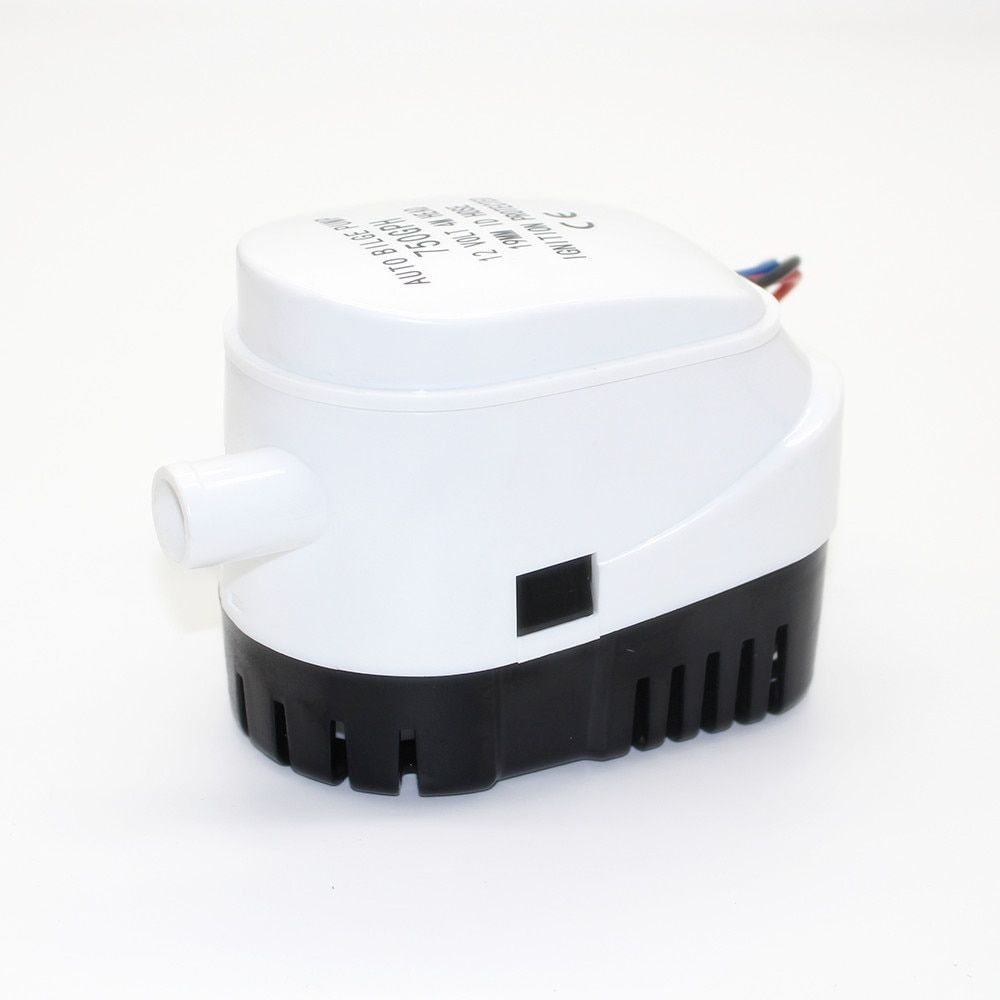 750GPH 1100GPH Automatic boat bilge <font><b>pump</b></font> 12V 24V DC submersible electric water <font><b>pump</b></font> small 12 v volt 750 1100 gph auto
