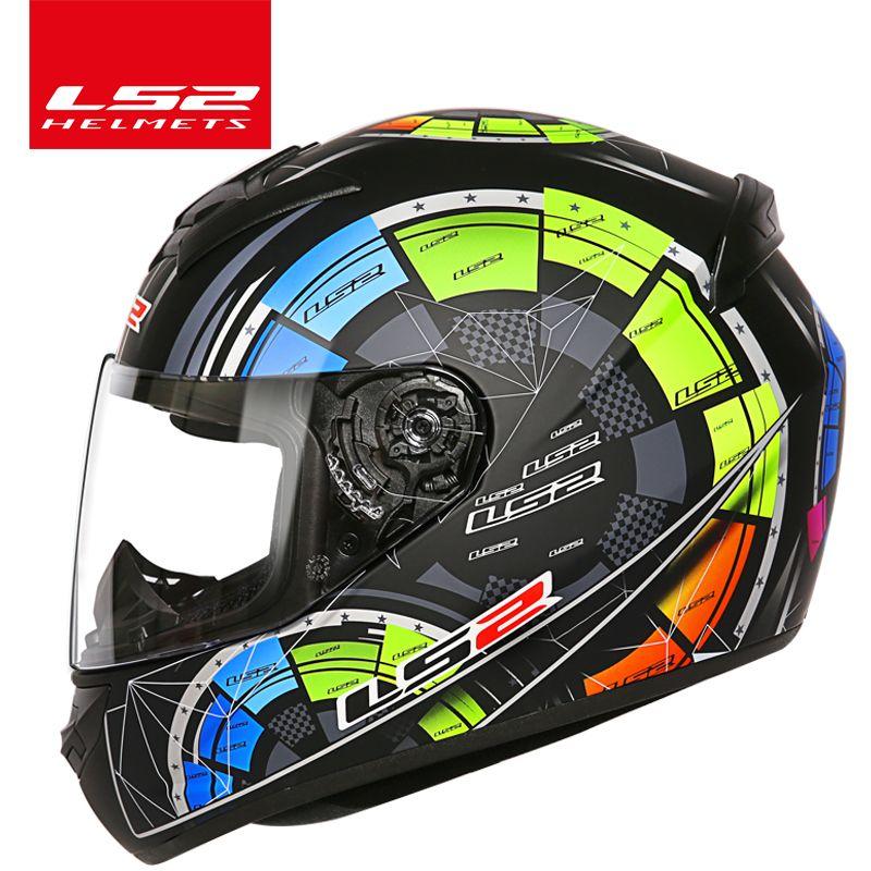 LS2 FF352 full face motorcycle helmet Urban motorbike racing Helmets scooter jet helmet casco moto capacete mens motorcycle helm
