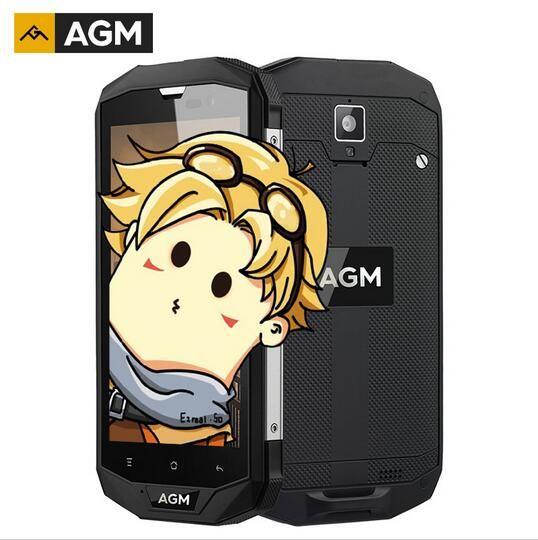 AGM A8 American version Dustproof IP68 Waterproof Mobile Phone 5.0