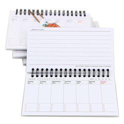 Kawaii semaine plan mémo livre 80 feuille hebdomadaire planificateur quotidien Sushi portable ordre du jour organisateur Papeterie fournitures Scolaires
