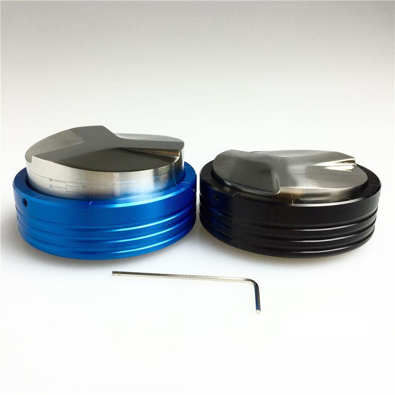 Outils de bourreur de café 58mm nouveaux outils de café de bricolage de Barista de bourreur intelligent d'expresso de haute qualité réglable d'acier inoxydable