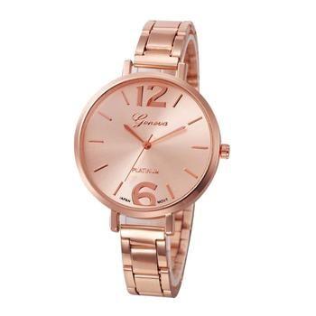 Montre de mode Des Femmes Cristal En Acier Inoxydable Quartz Analogique Montre-Bracelet Bracelet Bracelet reloj mujer montre femme Relogio 17Jun20