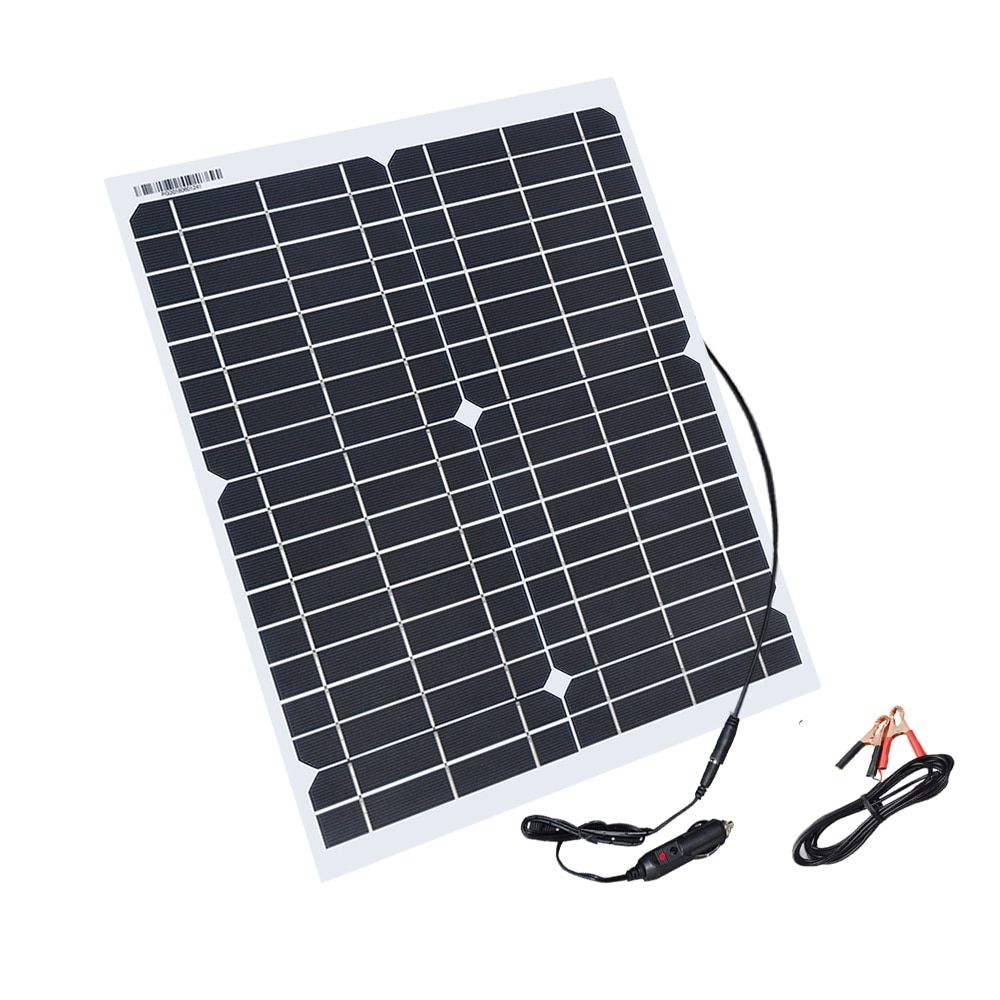 Boguang 20w flexible solar panel panels solar cells cell module DC for car yacht led light RV 12v battery boat outdoor charger