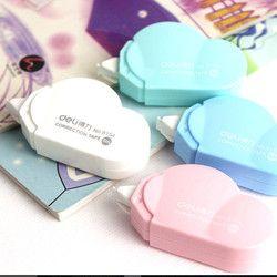5mm x 5 m Deli lindo kawaii nube mini pequeña Cinta correctora coreana dulce papelería novedad Oficina niños suministros de escuela niños