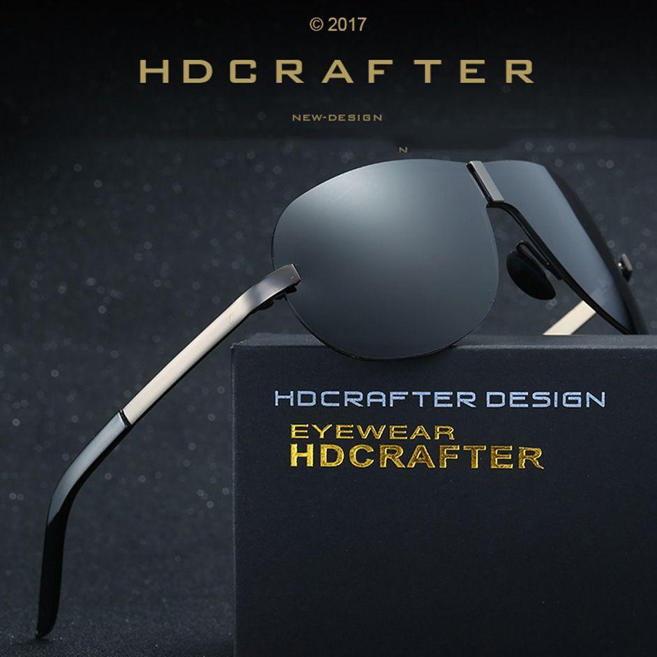 Mens Goggle Polarized Sunglasses Vintage Men Designer Conjoined Spectacle Lens Super Frame Uv400 Rimless Sunglasses Cool Glasses