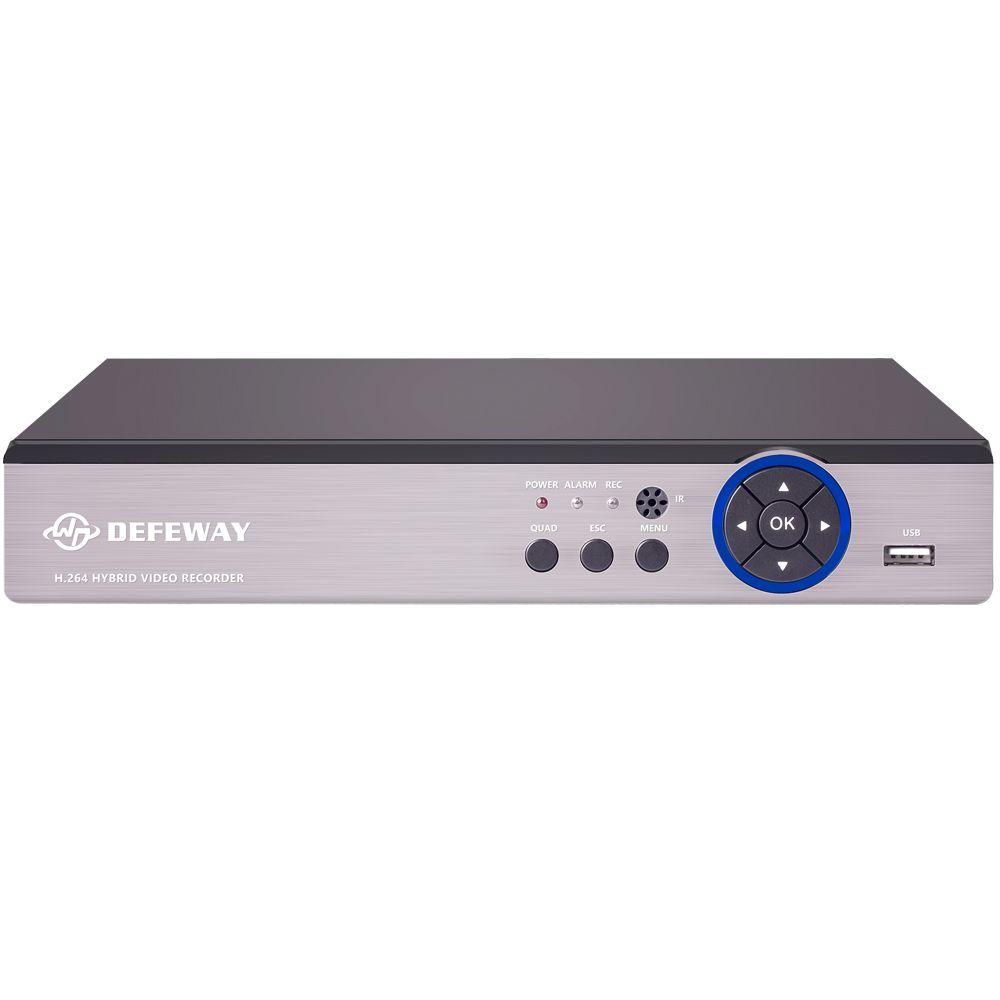 DEFEWAY 1080N HDMI Surveillance Video Recorder 16 CH AHD DVR HDD Network P2P 16 Channel CCTV Security System