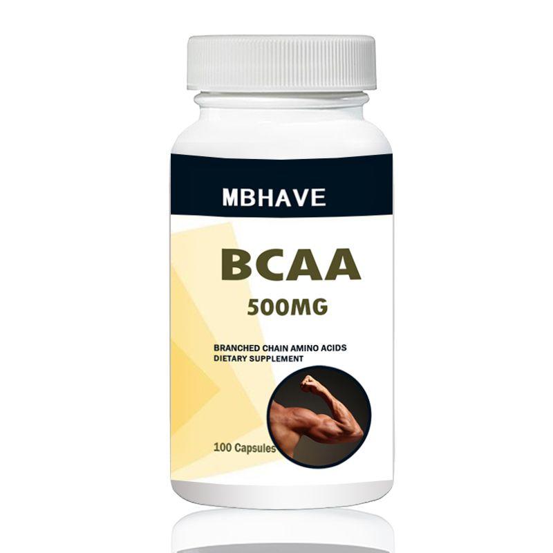 BCAA 2:1:1 Hohe Qualität Zweig Kette Aminosäuren Multi-funktion 100 PCS