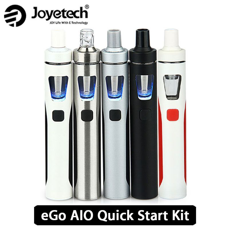 Original Joyetech eGo AIO Vape Kit All-in-One Starter Kit w/ 2ml Atomizer & 1500mah Battery egO aio e electronic cig vs ijust s