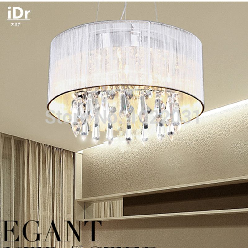 Diameter Handmade Cloth K9 Crystal Chandeliers Upscale atmosphere Lights Modern lamps Upscale atmosphere Dia300xHe185mm