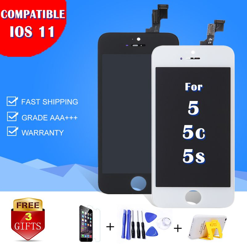 LCD HOUSE For iPhone 5 5s 5c LCD Display Module touch screen digitizer replacement glass clone phone lcd screen AAA quality