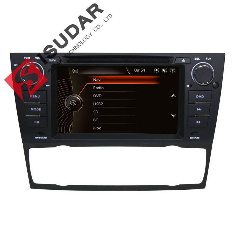 Isudar Car Multimedia Player Car Radio GPS Android 7.1.1 1 Din For BMW/E90/E91/E92/E93/318/320/325 Canbus Autoradio Bluetooth
