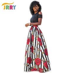 Jerry nuevo dos piezas casual mujeres Maxi vestidos de manga corta negro Top patrón largo vestido floral más tamaño 6XL vestidos