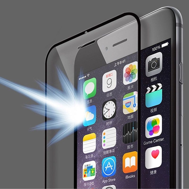 HLNew Front Full Coverage Tempered Glass Screen Film Guard For iPhone 6 4.7''AUG 24  E22