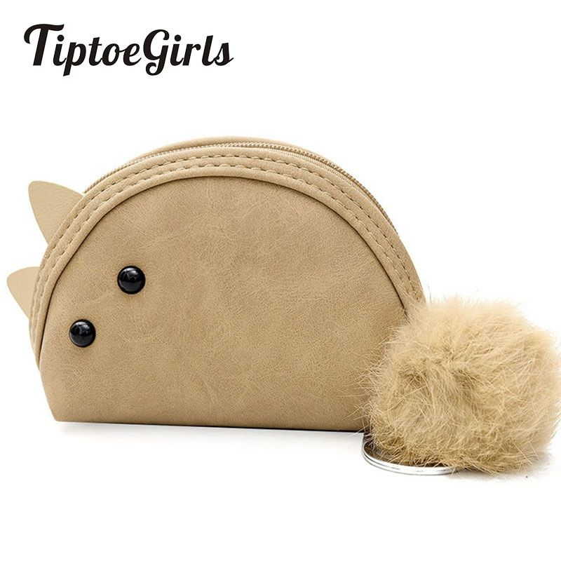 Wallet Female New Tide Korean Version of the Student Packet Mini Coin Purse Ball Bag Wallet Simple and Cute Mouse Bag