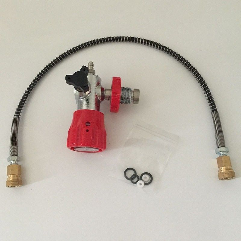 Competitive Price HP Air Tanks Paintball SCUBA CO2 Filling Station Refill Adapter Valve Connector-E