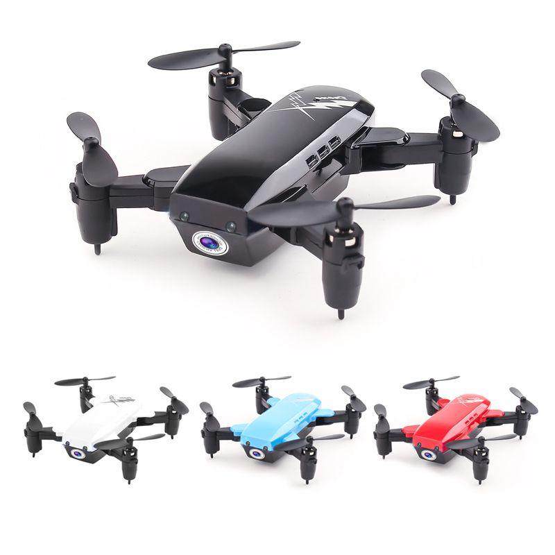 Mini Drone pliable avec/sans caméra hélicoptère RC avec Mode de maintien quadrirotor RC avec Mode sans tête jouets de maintien d'altitude pour enfant
