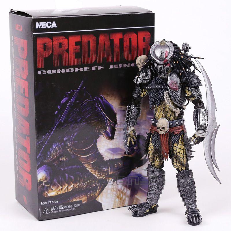 AVP Aliens vs Predator Series Concrete Jungle PVC Action Figure Collectible Model Toy 22cm