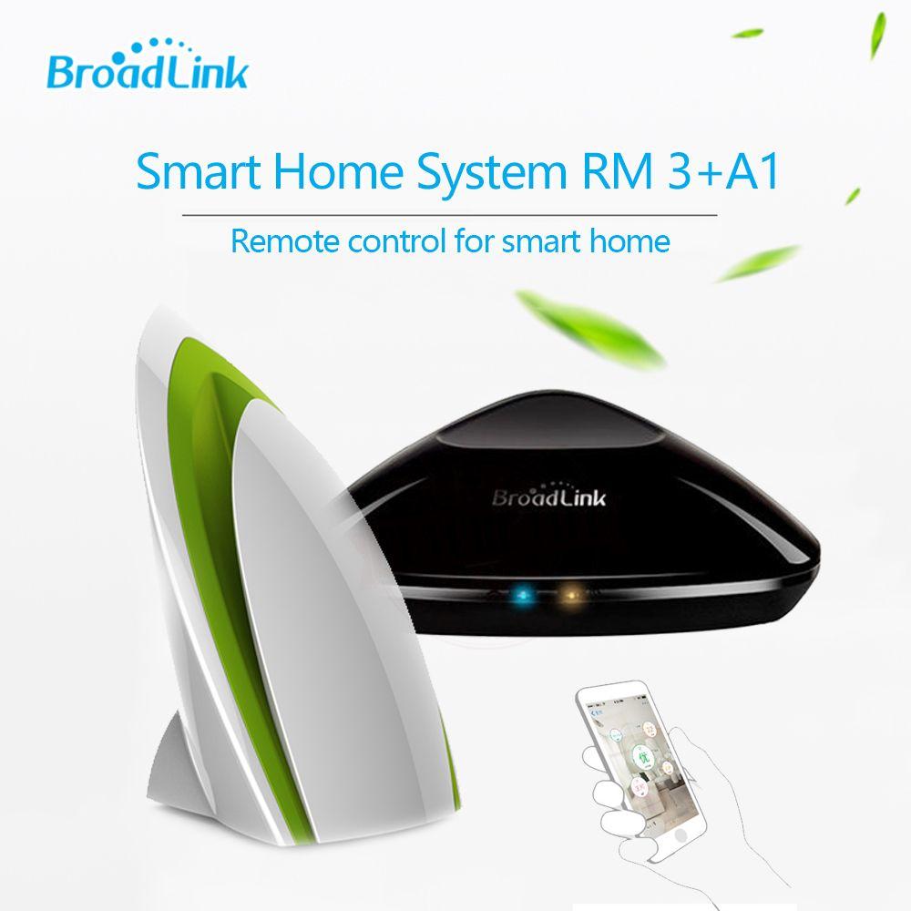 Broadlink RM3 RM PRO intelligente Fernbedienung Contol IR + RF + A1 Luftqualität Detektor Sensor, Smart Home Automation System FÜR IOS Android