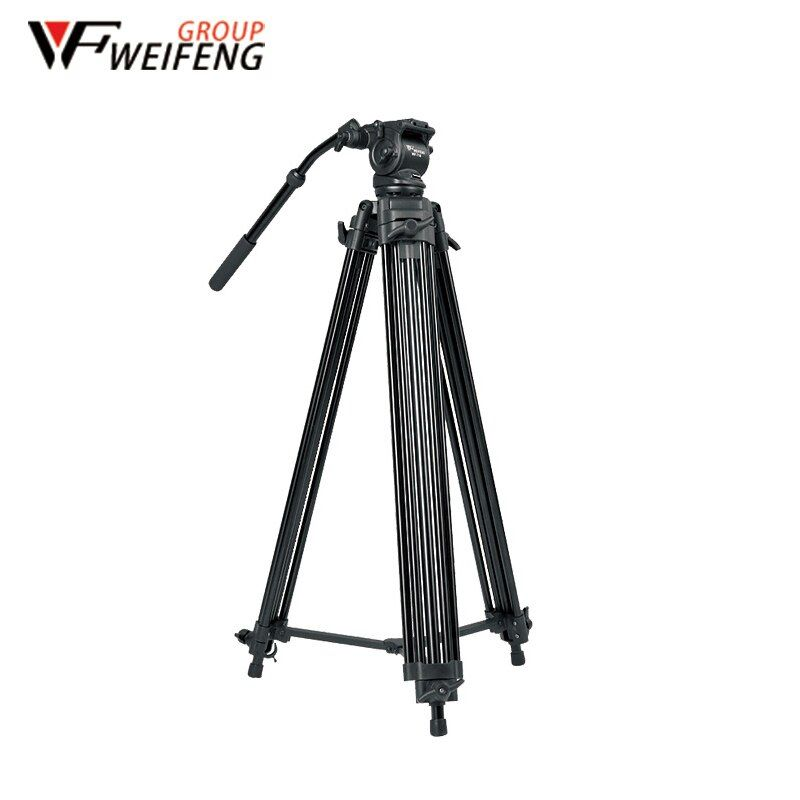 Tripod Weifeng WF-718 Professional Camera Tripods 1.8 Meters Three Camera Tripod Travel Portable Aluminum Tripod For SLR