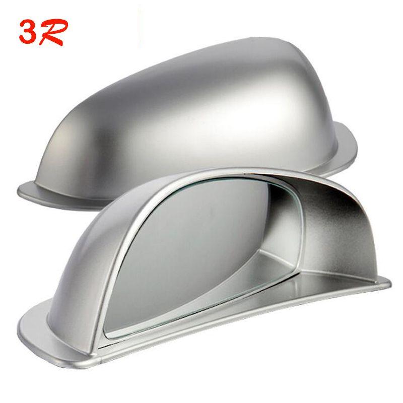1 paire Original 3R réglable Angle mort rétroviseurs voiture deuxième rangée vue arrière miroir convexe Auto grand Angle lentille livraison gratuite