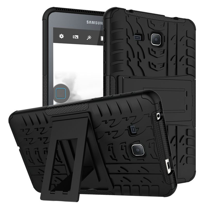 For Samsung Galaxy Tab A A6 7.0 T280 t285 Tablet case Heavy Duty Defender Rugged TPU+PC Armor Dazzle Shockproof KickStand Cover