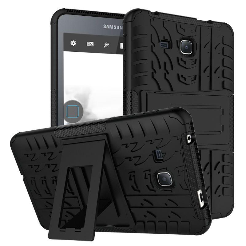 Pour Samsung Galaxy Tab Un A6 7.0 T280 t285 Tablet case Heavy Duty Defender Robuste TPU + PC Armure Dazzle Antichoc Béquille couverture