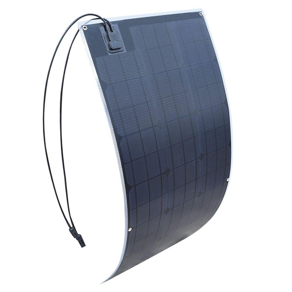 20,5 v outdoor ETFE Flexible Solar Panel 100 W Monokristalline Solarzelle für Auto/Yacht/Dampfschiff 12 v 100 Watt Solar Batterie