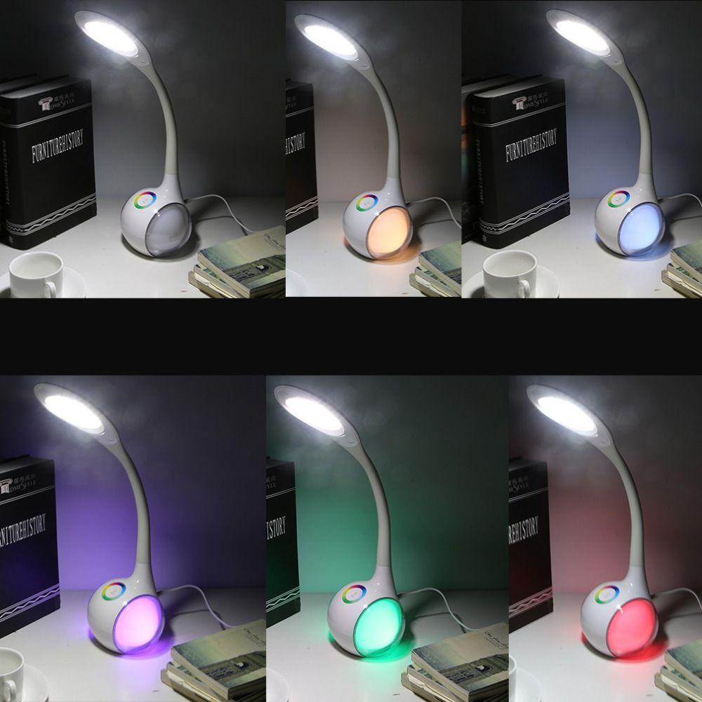 Hohe Qualität FXT3 Geführt Auge Schützen Student Schreibtisch Tischlampe Für Computer Home Study Lesen Helligkeit Tag Weiß