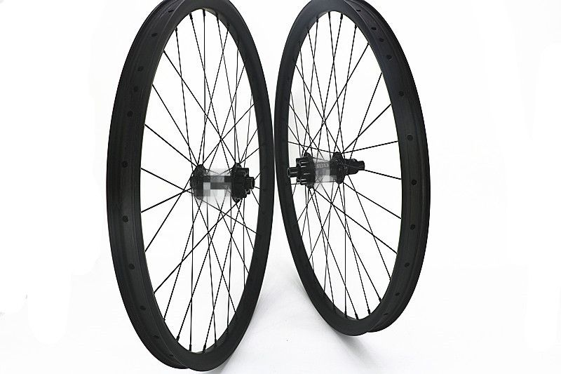 carbon MTB wheels 29er 350S boost 110x15 148x12 6-bolt wheels bicycle MTB wheels 35mm width 1420 spoke Mountain Bikes wheels