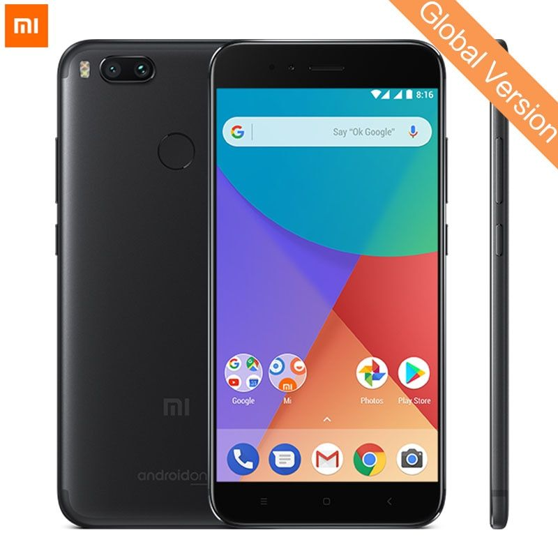 Globale Version Xiao mi mi A1 4 gb 32 gb mi A1 Handy Snapdragon 625 Octa Core 5,5