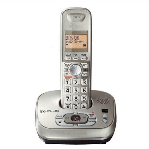 KX-TG4021 Dect-6.0 numérique téléphone Sans Fil avec Répondeur combiné téléphonique