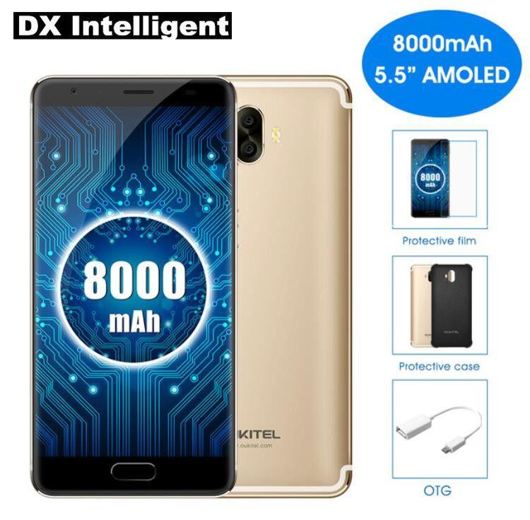 OUKITEL K8000 5.5 Inch HD MTK6750T Octa Core 4G LTE Mobile Phone Android 7.0 4GB RAM 64GB ROM 13MP Dual Back Cameras Fingerprint